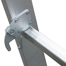 Gelenk-Kombileiter KRAUSE®. Set aus 2 Leitern, 2x3 + 2x6 Sprossen