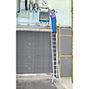 Gelenk-Teleskopleiter KRAUSE ® mit stufenlosen Holmverlängerungen