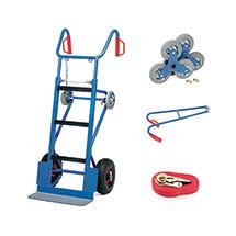Gerätekarre fetra® - Komplettset, Stahlrohr, Tragkraft 400 kg