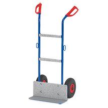 Gerätekarre fetra®, Tragkraft 250 kg. Schaufel 150 x 480 mm