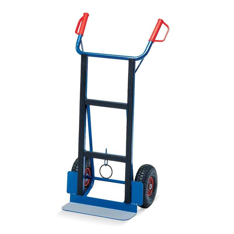 Gerätekarre fetra®, Tragkraft 350 kg. Schaufel 150 x 450 mm