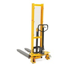 Gerbeur hydraulique Ameise® Quick Lift, RAL 1028 jaune melon