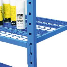 Gitterboden für Fachbodenregal Stecksystem, Tragkraft bis 500 kg pro Boden