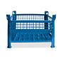 Gitterbox,4 feste Wände, TK 1000kg, 1200x1000x600mm,lackiert