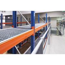 Gitterrostboden für Palettenregal Typ MPB