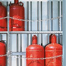 Gitterrostregalboden für Lagercontainer