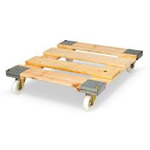 Gitterwagen mit 4 Wänden. Klappbare Vorderwand, Tragkraft 500 kg,Wahlweise mit Kunststoff-Rollplatte (5 Farben zur Auswahl) oder Holz-Rollplatte oder Stahl-Rollplatte