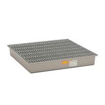 Glasvezelversterkte (GVK) - lekbak voor kleine vaten/fusten