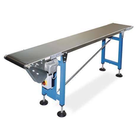 Gleitbandförderer max.15kg/m, Typ 50, Gurtbreite 100mm