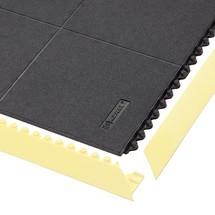 Golvplatta för monteringsarbetsplatser, instickssystem