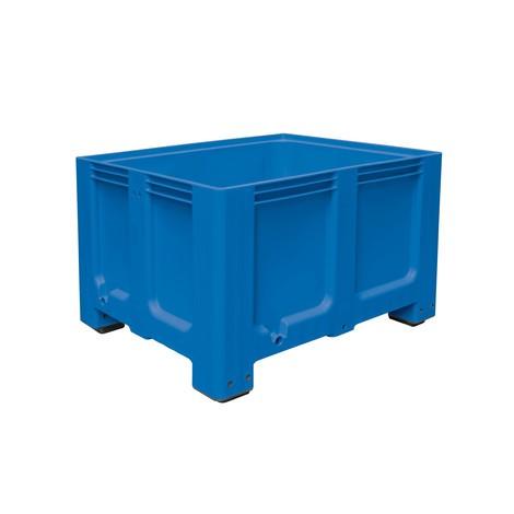 Gran contenedor de polietileno, 610 litros, con pies