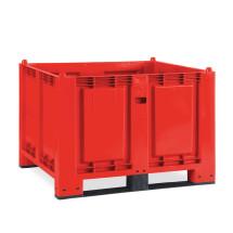 Gran contenedor de polipropileno, 550 litros, con travesaños