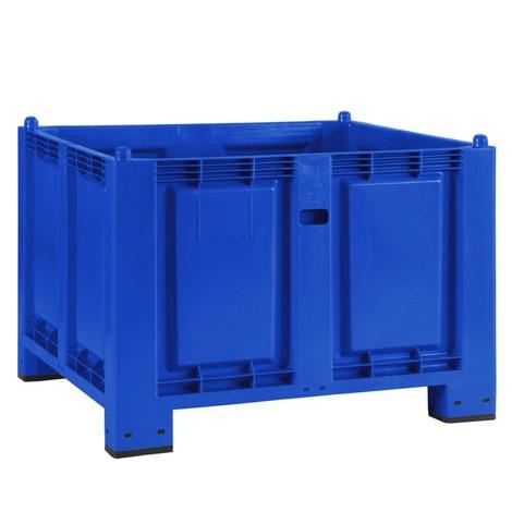 Grand conteneur en polypropylène, 550 litres, avec pieds