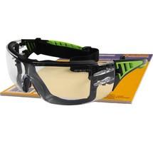 Green Vision Schutzbrille mit zus. Kopfband
