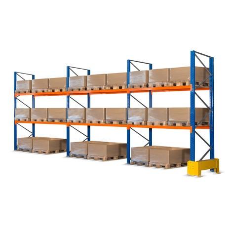 Grelha do painel traseiro para conjunto completo de estanteria de paletes