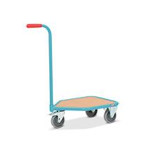 Griffroller Ameise® mit Holzladefläche, Tragkraft 150 kg, HxBxT: 878x784x 450 mm
