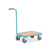 Griffroller Ameise® mit Holzladefläche, Tragkraft 250 kg, HxBxT: 877x874x500 mm
