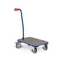 Griffroller Ameise®, rechteckig, 1 Ladefläche, 600 x 450 mm, 250 kg