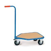 Griffroller fetra® mit Holzplattform. Tragkraft 150 kg