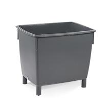 Großbehälter CRAEMER aus Polyethylen-Regenerat.Ohne Deckel. Inhalt bis 400 Liter