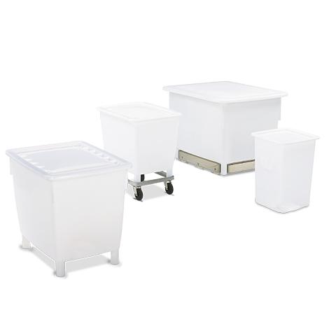 Großbehälter für Lebensmittel. Volumen bis 650 Liter