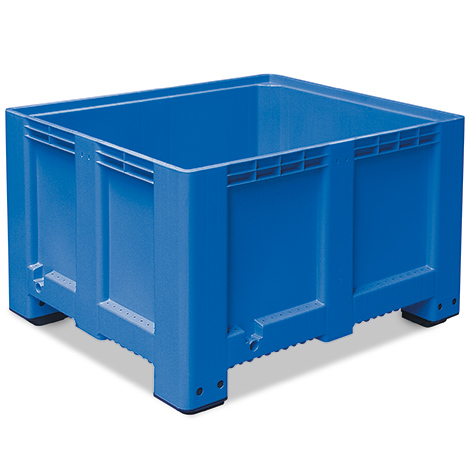Großbox mit Füßen. Maß 1200 x 1000 x 760 mm (LxBxH)