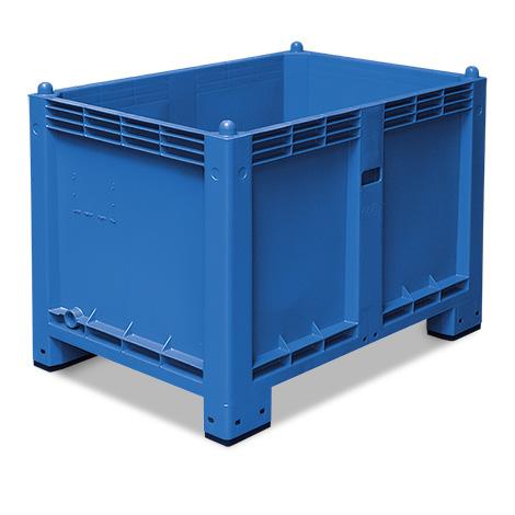Großbox mit Füßen. Maß 1200 x 800 x 850 mm (LxBxH)