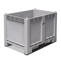 Großbox mit Kufen. Maß 1200 x 1000 x 760 mm (LxBxH)