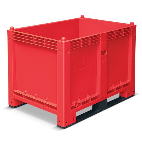 Großbox mit Kufen, Maß 1200 x 800 x 850 mm (LxBxH)