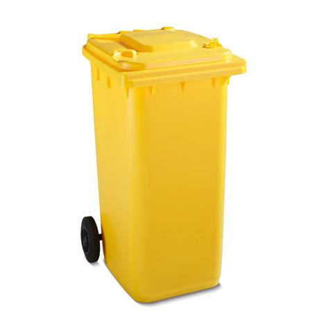 Großmülltonne aus Kunststoff mit 2 Rädern, 360 Liter, diverse Farben