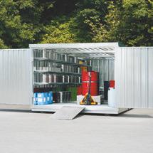 Großraum-Umweltcontainer HxBxT 2300x3005x4340 mm