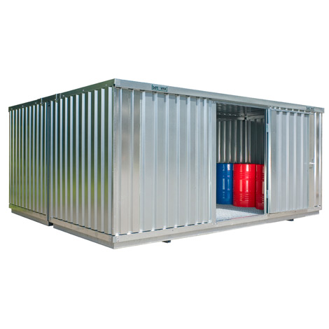 Großraum-Umweltcontainer HxBxT 2300x5080x4340 mm
