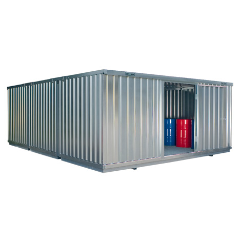 Großraum-Umweltcontainer HxBxT 2300x5080x6520 mm