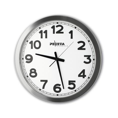Großraumuhr Peweta®, Zahlen-Zifferblatt