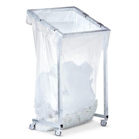 Großvolumen-Wertstoffsammler. Inhalt 1000 Liter, mit oder ohne Deckel erhältlich