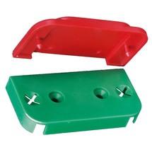 Grüne Unterplatten für Fluchttürhauben