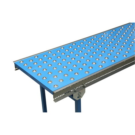 Guľový valec stôl U profilu