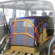 Gurtbandnetze für Anhänger, Kastenwagen und Pritschen