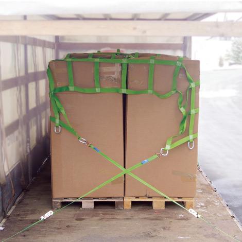 Gurtbandnetze für Transporter und Lkw
