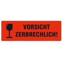 """Haftetiketten """"Vorsicht zerbrechlich!"""""""