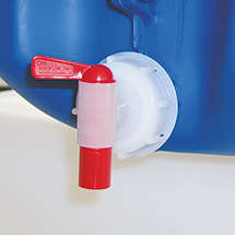 Hahnverschluss Auslauf für Kanister 5 - 60 Liter