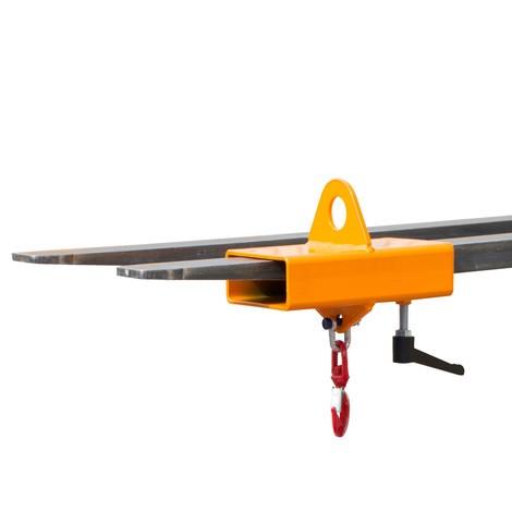 Hak ładunkowy do wózka widłowego idźwigu, lakierowany