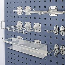 Hakensortiment für Front- und Rückseite Abfall- Reinigungsstation, 11-Teilig