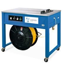 Halbautomatische Palettenumreifungsmaschine