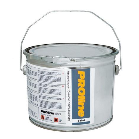 Halgulvbelægning PROline-paint, 5 l, mat