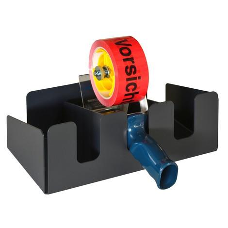 Halter für Klebebandabroller für Packtisch Classic und Multiplex