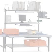Halterung für Waagenanzeige, für Hüdig + Rocholz Packtisch-System