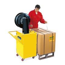 Halvautomatiskt pall emballeringsband verktyg