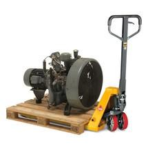Handhubwagen Ameise®, Tragkraft 2.600 kg, Gabellänge 1.150 mm, Polyurethan, Tandemrollen, B-Ware