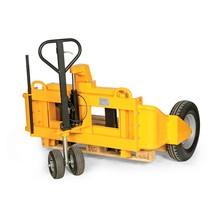 Handhubwagen geländegängig - hand-hydraulisch